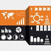 Detail infographics set