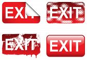 Decorative Exit Sign