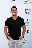 LOS ANGELES - SEP 4:  Josh Murray at the Ping Pong 4 Purpose Charity Event at Dodger Stadium on September 4, 2014 in Los Angeles, CA