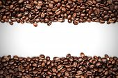 Coffee beans stripes