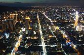Kaohsiung City Lights At Night