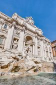 ������, ������: Trevi Fountain The Baroque Fountain In Rome Italy