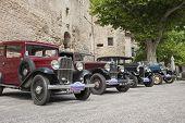 Vintage cars.