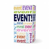 Event Word On Product Box