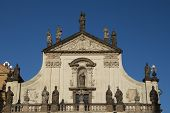Salvator Church In Prague (czech Republic)