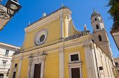 Mother Church of San Severo. Puglia. Italy.