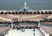 Taking The Oath Of The Nizhny Novgorod Police Academy Cadets
