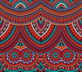 tribal ethnic background seamless pattern