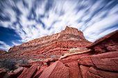Desert Cliffs In Utah