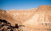 Mountains In Stone Desert Nead Dead Sea