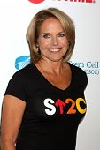 LOS ANGELES - SEP 5:  Katie Couric at the Stand Up 2 Cancer Telecast Arrivals at Dolby Theater on Se