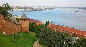 Nizhny Novgorod Kremlin In Autumn Morning