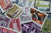 Industry on stamps
