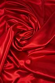 Red Satin/Silk Fabric 4