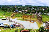 Wood Bridge Sangklaburi