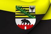 Flag Of Saxony-Anhalt