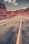 Scenic Utah Desert Road