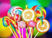 Colorful Candies And Sweets