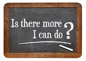 Is there more I can do ?  A question on a vintage slate blackboard
