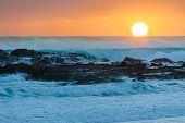 Sunrise At Flat Rock