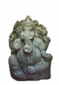 The Hindu Elephant God Ganesh