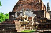 The Buddha Status Sukothai