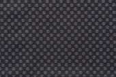 Texture Of Dark Fabric With An Abstract Pattern