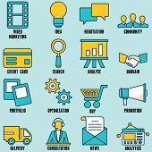Set Of Internet Services Icons - Part 1