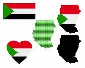 Map Of The Republic Of Sudan