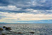 Stones on the coast