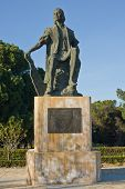 Columbus Statue At La Rabida