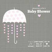 Baby Girl Invitation For Baby Shower