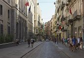 Via Toledo Street In Naples