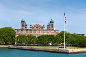 Ellis Island Immigration Museum Jersey city New York US