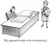 Revolutionary Business Approach
