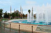 Blue Mosque in Istanbul, Sultanahmet Square
