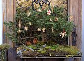 HALLSTATT, AUSTRIA - DECEMBER 13: Rural Christmas in Hallstatt on December 13, 2014.