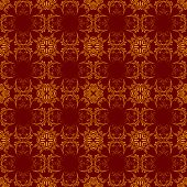 Seamless Background With Ornament