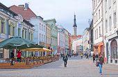 Tallinn. Estonia. Viru Street