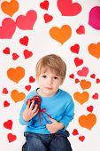 Valentine's Day And Hearts: Kids Fun