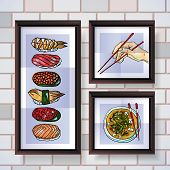 Sushi posters