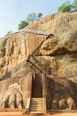 Scenic Gate To Sigiriya Rock Summit