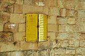 Old Yellow Shutters