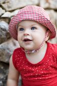 Cute Baby Girl - Very Shallow Depth Of Field
