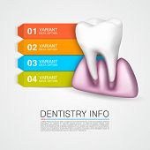 Dentistry info medical art creative.