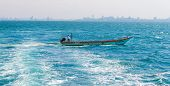 Fishermen Are Driving Coastal Pattaya City.