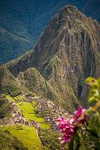 Machu Picchu As Seen From Machu Micchu Mountain