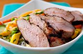 Mango Noodle Salad With Pork Tenderloin