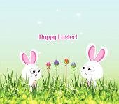 picture of easter card  - Happy easter - JPG