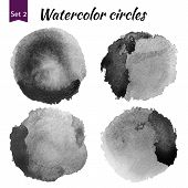 picture of significant  - Watercolor art compilation significant grain and grunge retro dark art bit mapped graphics - JPG